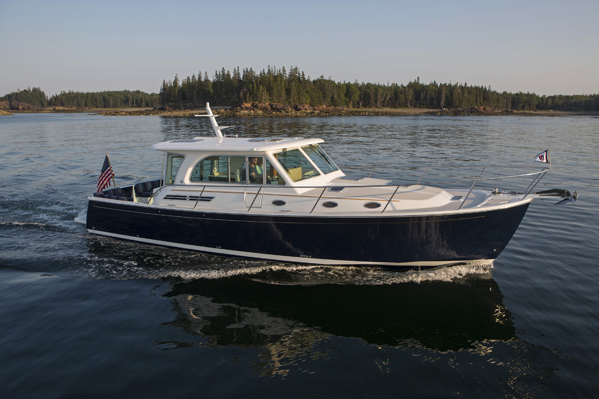 Images Of The Back Cove 41 Day Boat Built In Rockland