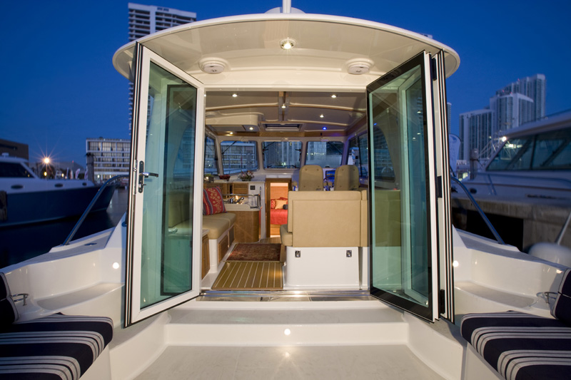Images Of The Back Cove 37 Down East Motor Boat Built In