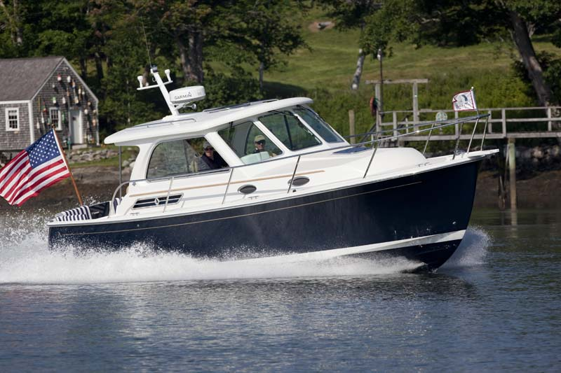 30 Foot Downeast Style Day And Pocket Cruiser Back Cove Yachts