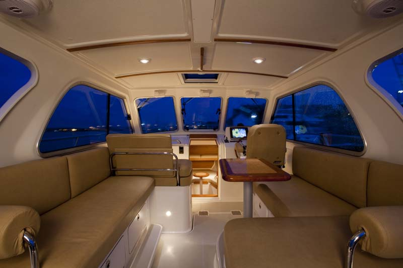 30 Foot Downeast Style Day and Pocket Cruiser | Back Cove Yachts