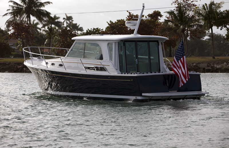 37 Foot Downeast Style Powerboat Images And Video Back