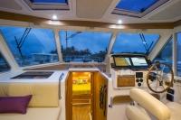 Interiors onboard Back Cove 41 in Jupiter, FL.
