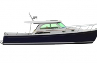 Downeast 37 Exterior Profile
