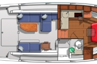 Downeast 37 Floor Plan