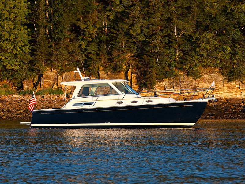 Optional equipment for the Back Cove 34. Power boat built in Maine by Back Cove Yachts | Back ...