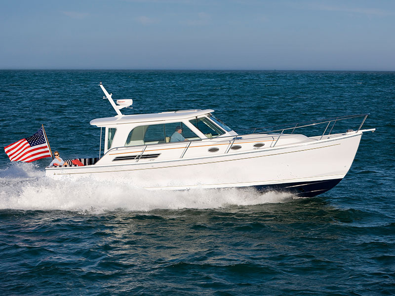 Optional equipment for the Back Cove 41. Power boat built in Maine by Back Cove Yachts | Back ...