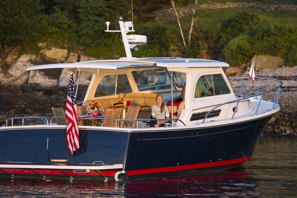 Boat Dealers In Oklahoma >> Images of the Back Cove Downeast 37 day boat built in Rockland, Maine. | Back Cove Yachts